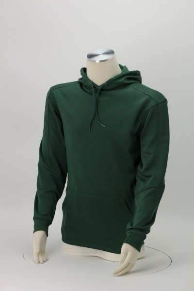 PTech Moisture Wicking Hooded Sweatshirt - Embroidered 360 View
