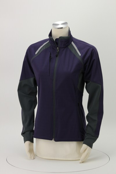 Sitka Hybrid Soft Shell Jacket - Ladies' - Embroidered 360 View