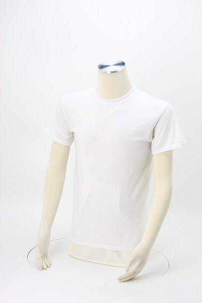 Gildan DryBlend 50/50 T-Shirt - Screen - White 360 View