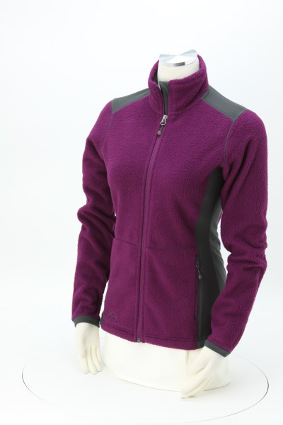 Eddie Bauer Colourblock Sherpa Fleece Jacket - Ladies' 360 View