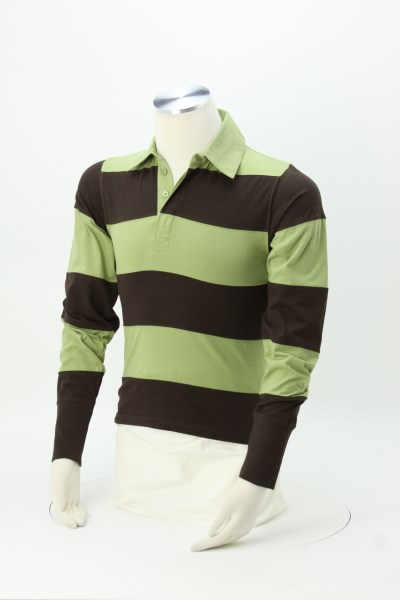 Legacy Long Sleeve Rugby Shirt 360 View
