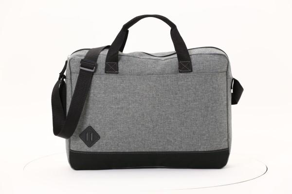 "Graphite Dome 15"" Laptop Brief Bag 360 View"