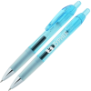 View Image 1 of 2 of Bic Intensity Clic Gel Rollerball Pen - Translucent