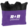 View Image 1 of 2 of Airy Zip Tote - Colours