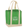 View Image 1 of 2 of Two Tone Shopper Tote
