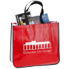 View Image 1 of 4 of Laminated Large Fashion Tote - 24 hr