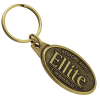 View Image 1 of 3 of Econo Metal Keychain - Oval