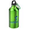 View Image 1 of 3 of Aluminum Water Bottle with Carabiner - 16 oz.