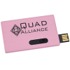 View Image 1 of 4 of Slide Card Micro USB Drive - 16GB