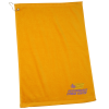 View Image 1 of 2 of Golf Towel with Grommet and Clip