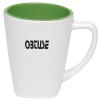 View Image 1 of 2 of Two-Tone Square Mug - 12 oz.- Closeout