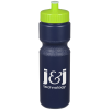 Value Sport Bottle with Push Pull Cap - 28 oz. - Colours