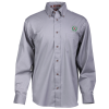 View Image 1 of 3 of Harriton Twill Shirt with Stain Release - Men's