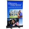 """View Image 1 of 3 of Economy Tabletop Retractor Banner Display - 24"""""""