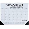View Image 1 of 2 of Desk Pad Calendar with Vinyl Corners