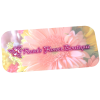 View Image 1 of 3 of Full-Colour Name Badge - Rectangle - Pin