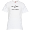 View Image 1 of 2 of Fruit of the Loom HD T-Shirt - Screen - White