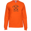 View Image 1 of 2 of Fruit of the Loom HD LS T-Shirt - Screen - Colours
