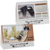 View Image 1 of 5 of Wildlife Desk Calendar - French/English