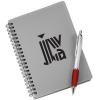 Silver Pocket Buddy Notebook Set
