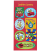 View Image 1 of 2 of Super Kid Sticker Sheet - Healthy Habits