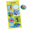 View Image 1 of 4 of Super Kid Sticker Sheet - Canadian Fun