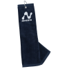 View Image 1 of 3 of Heavy Weight Tri-Fold Golf Towel with Grommet