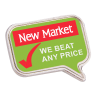 View Image 1 of 2 of Value Lapel Pin - Message Bubble