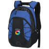 View Image 1 of 5 of Bracket Laptop Backpack - Embroidered