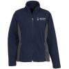 View Image 1 of 4 of Crossland Colourblock Fleece Jacket - Ladies' - 24 hr