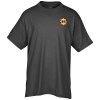 View Image 1 of 3 of Bodie Heathered Blend Tee - Men's - Embroidered