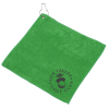 """View Image 1 of 3 of Microfibre Golf Towel - 12"""" x 12"""""""