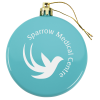 View Image 1 of 3 of Flat Shatterproof Ornament - Opaque