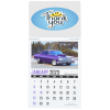 View Image 1 of 2 of Muscle Car Stick Up Calendar - Rectangle - Full Colour