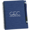 View Image 1 of 6 of Mercury Notebook with Stylus Pen