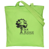"""View Image 1 of 3 of Cotton Sheeting Tote - 15"""" x 15"""""""