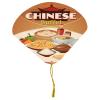 View Image 1 of 2 of Seashell Tassel Hand Fan - Full Colour