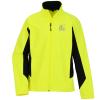 View Image 1 of 2 of Crossland Colourblock Soft Shell Jacket - Men's