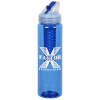 View Image 1 of 4 of Flip Out Infuser Colour Sport Bottle - 32 oz.