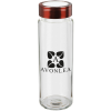 View Image 1 of 2 of Glass Wide Mouth Water Bottle - 20 oz.