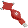 View Image 1 of 3 of Retractable Charging Cable