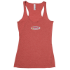 Bella+Canvas Triblend Racerback Tank Top - Embroidered