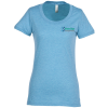 View Image 1 of 3 of Bella+Canvas Tri-Blend T-Shirt - Ladies' - Embroidered