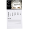 View Image 1 of 3 of Bic Magnet with Calendar and Lined Notes