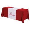 View Image 1 of 5 of Serged 6' Closed-Back Table Throw and Runner Kit