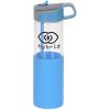 View Image 1 of 5 of Yoli Glass Yoga Bottle - 18 oz.