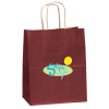 "Matte Shopping Bag – 9-3/4"" x 7-3/4"" - Coloured - Full Colour"