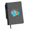 View Image 1 of 3 of Nomad Heathered Notebook with Pen