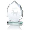 "Eclipse Jade Glass Award - 6"""
