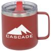 View Image 1 of 3 of Camper Vacuum Mug - 12 oz.